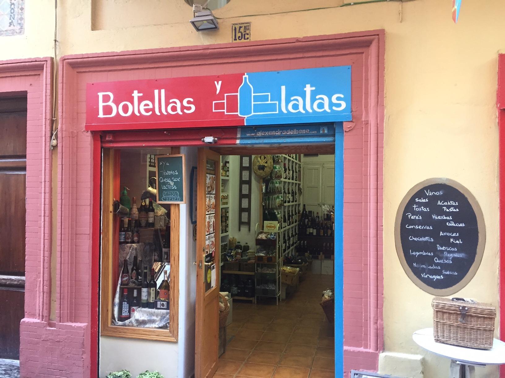 Tiendas y abacerias de sevilla donde encontrar vinos de - Estanterias de vino ...